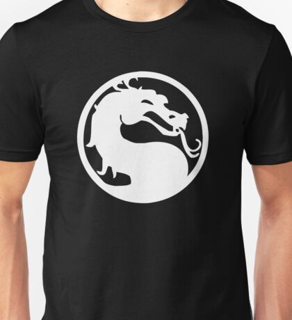 Mortal Dragon (White) Unisex T-Shirt