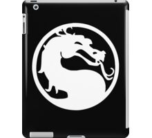 Mortal Dragon (White) iPad Case/Skin