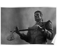 Giant Frankenstein Poster