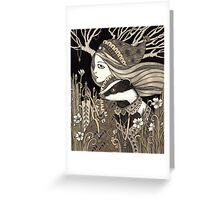 Vasilisa Greeting Card