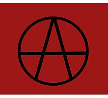 Anarchism Photographic Print