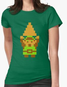Legend of Zelda: Triforce of Courage Womens Fitted T-Shirt