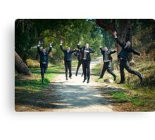 Oh what a feeling.... Canvas Print