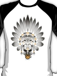 Portrait of American Indian  T-Shirt