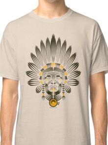 Portrait of American Indian  Classic T-Shirt