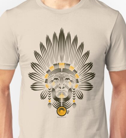 Portrait of American Indian  Unisex T-Shirt