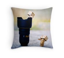 the rescue mission... Throw Pillow