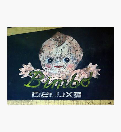 Bimbo Photographic Print