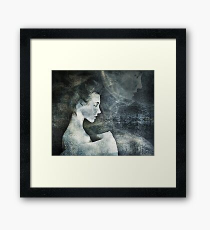 When Grief is Dry Framed Print