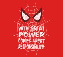 With great power... ( Spider-man ) T-Shirt