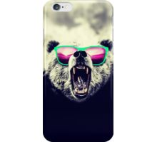 Funny Cool Angry Panda with Sunglasses iPhone Case/Skin