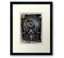 Iaconagraphy: Time Guardians: Steampunk Celestial Framed Print
