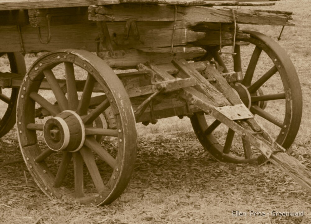 Old Wagon III by Ellen  Price - Greenwald