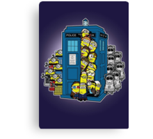 Look Out Doctor Minion Canvas Print