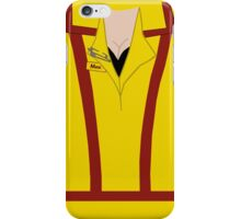 Max Black - Uniform iPhone Case/Skin