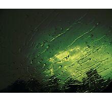 Rain on my face Photographic Print