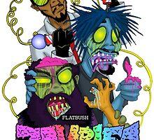 Flatbush Zombies by lovelyson