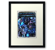 Iaconagraphy: Time Guardians: The Attic Framed Print