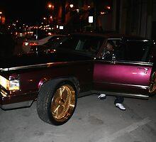 Purple Cadillac!! by Danny  Cross