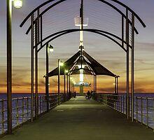 Brighton Jetty Architecture by AllshotsImaging