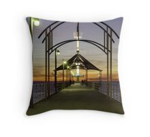 Brighton Jetty Architecture Throw Pillow