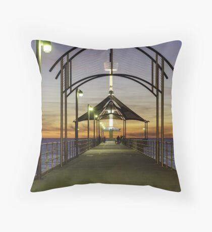 Brighton Jetty Architecture Throw Pillow