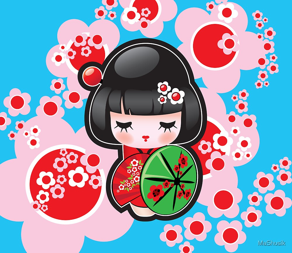 Japanese Doll by MaShusik