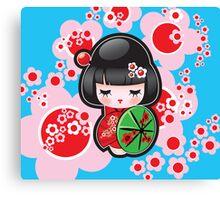 Japanese Doll Canvas Print