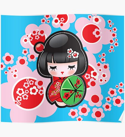 Japanese Doll Poster