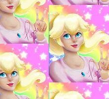 Peach Princess by LeenaCruz