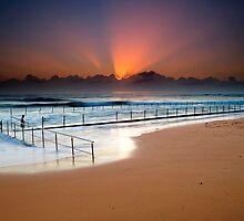Sunbeams Newport Ocean Pool - March 7, 2009 by Paul Pinkley