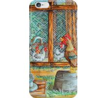 The Escapee..He Flew The Coop iPhone Case/Skin
