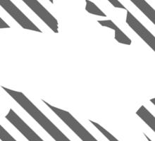 Psychedelic Cowboy (Grey) Sticker