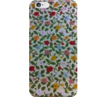 Floral Fabric iPhone Case/Skin