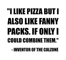 Pizza Fanny Pack Calzone by AmazingMart