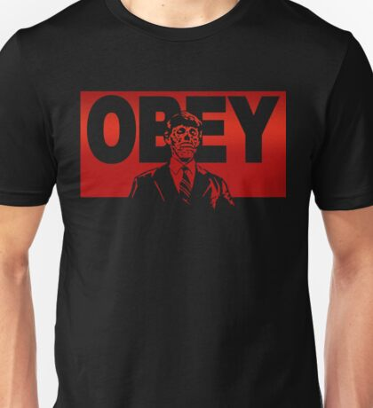 Obey Zombie Unisex T-Shirt