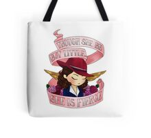 peggy says don't underestimate us Tote Bag