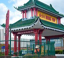 Wing Yip Restaurant Pagoda #2 by DonDavisUK