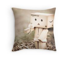 i wish i knew what this means but i wish that about a lot of things so mostly i enjoy not knowing... Throw Pillow