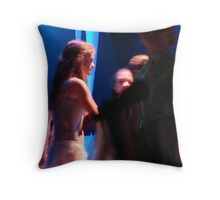 still, alone, together Throw Pillow