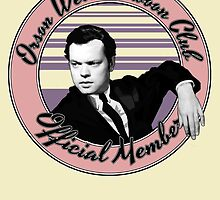 Orson Welles Swoon Club - Faded Pink by juliealberti