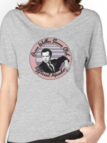Orson Welles Swoon Club - Faded Pink Women's Relaxed Fit T-Shirt