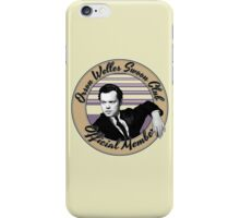 Orson Welles Swoon Club - Faded Orange iPhone Case/Skin