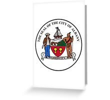 Seal of Albany Greeting Card
