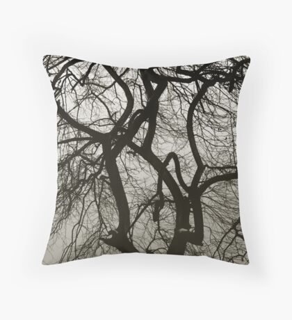 Haunted Throw Pillow