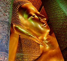Reclining Buddha by Paul Moore