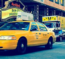 New York Taxi by Nathan Gordon