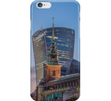 Old Vs New-London iPhone Case/Skin