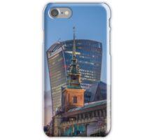 Old Vs New-London iPhone Case/Skin