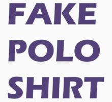 This is a fake polo shirt T-Shirt